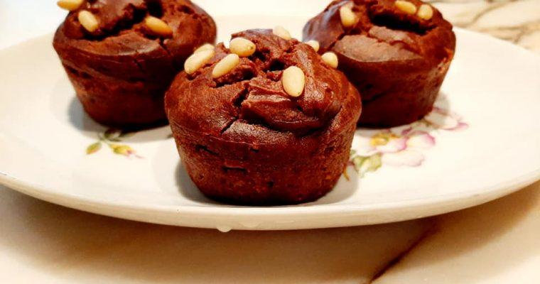 Muffin di farina di castagne
